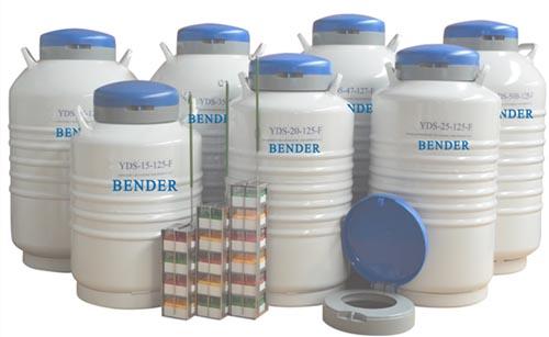 YDS-15-125F液氮罐,储存型液氮罐